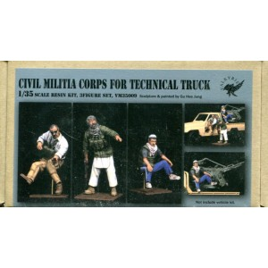 Civil Militia Corps for Technical Truck