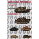 German Tank Antennae Set