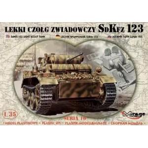 Sd.Kfz. 123 LIGHT RECCE TANK - LUCHS