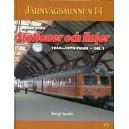 Järnvägsminnen 14, Bilder från stationer och linjer från 1960–1970-talet - del 1