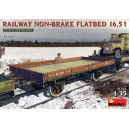 Railway Non-Brake Flatbed 16.5 t