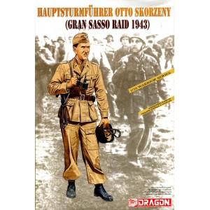 HAUPSTURMFÜHRER Otto Skorzeny (GRAN SASSO RAID 1943)