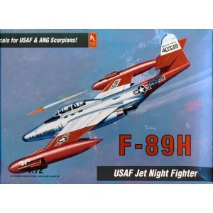 F-89H USAF Jet Night Fighter