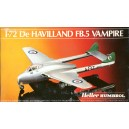 De HAVILLAND FB.5 Vampire