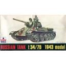Russian Tank t 34/76 1943 model