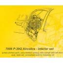 Bell P-39Q Airacobra interior