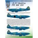 S 31 Spitfire PR. Mk. XIX