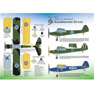 Fiesler Fi 156 Storch Scandinavian Service