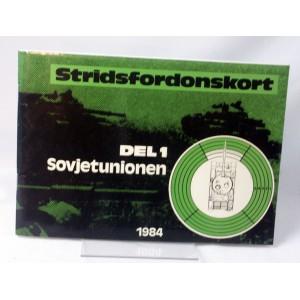 Stridsfordonskort del 1 Sovjetunionen 1984