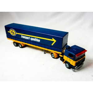Volvo F12 turbo 6 med Semitrailer ASG transport spedition