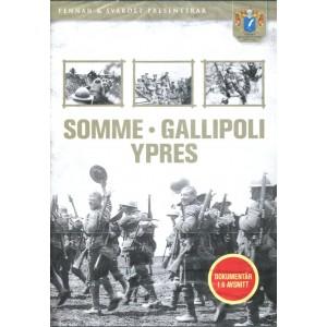 Somme - Gallipoli - YPRES