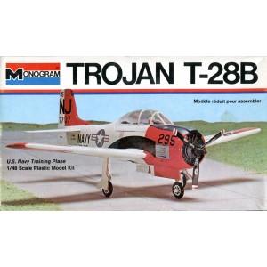 Trojan T-28B U.S. Navy Training Plane