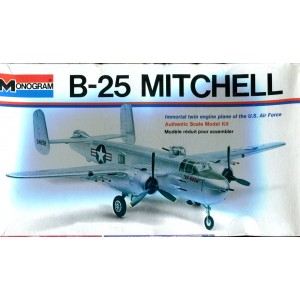 B-25 Mitchell Immortal twin-engine plane of the U.S. Air Force