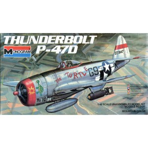 "Thunderbolt P-47D ""The Turtle"""