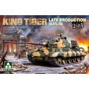 Sd.Kfz. 182 King Tiger Late Production 2 in 1