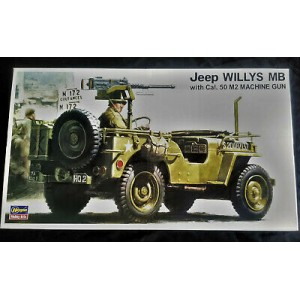 Jeep Willys MB with Cal.50 M2 Machine Gun