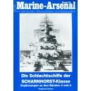 Die Schlachtschiffe der Scharnhorst-Klasse Ergänzungen zu den Bänden 3 und 4