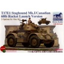 T17E2 Staghound Mk.I/Canadian 60lb Rocket Launch Version