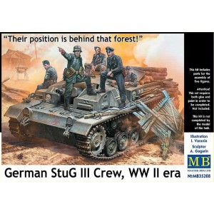 German StuG III crew WW II era
