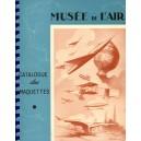 Musée de L'air - Calalogue des Maquettes