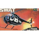 SWAT Hughes 500 Police Helicopter w/Pilot Figure