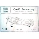 CA-13 Boomerang Australian famous WW II fighter