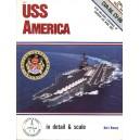 USS America in Detail and Scale, CVA-66/CV-66