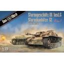 2 in 1 Sturmgeschütz III Ausf.G Sturmhaubitze 42 with Zimmerit