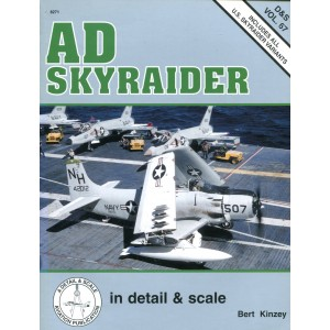 AD Skyraider in Detail And Scale